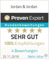 Erfahrungen & Bewertungen zu Jordan & Jordan