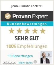 Erfahrungen & Bewertungen zu Jean-Claude Leclere