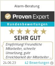 Erfahrungen & Bewertungen zu Alarm-Beratung