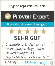 Erfahrungen & Bewertungen zu Hypnosepraxis Rausch