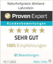 Erfahrungen & Bewertungen zu Naturheilpraxis Weiland Lahnstein