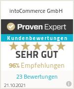 Erfahrungen & Bewertungen zu intoCommerce GmbH