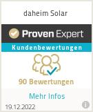 Erfahrungen & Bewertungen zu daheim Solar