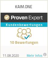 Erfahrungen & Bewertungen zu KAIM.ONE