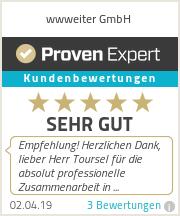 Erfahrungen & Bewertungen zu wwweiter GmbH