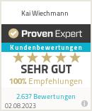 Erfahrungen & Bewertungen zu Kai Wiechmann
