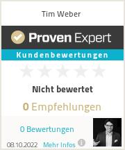 Erfahrungen & Bewertungen zu Tim Weber