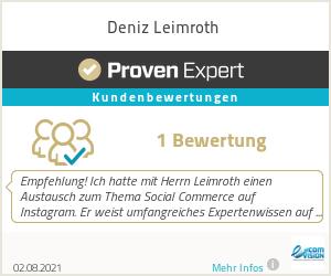 Erfahrungen & Bewertungen zu Deniz Leimroth