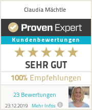 Erfahrungen & Bewertungen zu Claudia Mächtle