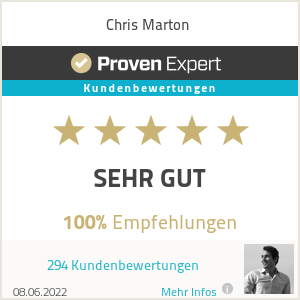 Erfahrungen & Bewertungen zu Chris Marton