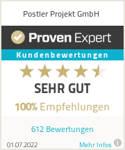 Erfahrungen & Bewertungen zu Postler Projekt GmbH