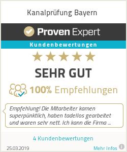 Erfahrungen & Bewertungen zu Kanalprüfung Bayern