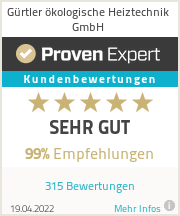 Erfahrungen & Bewertungen zu Andreas Gürtler ökologische Heiztechnik