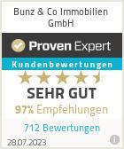 Erfahrungen & Bewertungen zu Bunz & Co Immobilien GmbH