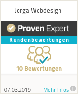 Erfahrungen & Bewertungen zu Jorga Webdesign