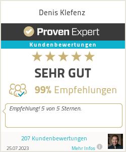 Erfahrungen & Bewertungen zu Denis Klefenz