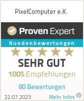 Erfahrungen & Bewertungen zu PixelComputer e.K.