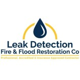 Leak Detection, Fire & Flood Restoration Co.