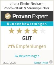 Erfahrungen & Bewertungen zu enerix Rhein-Neckar - Photovoltaik & Stromspeicher