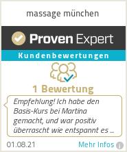 Erfahrungen & Bewertungen zu massage münchen