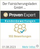 Erfahrungen & Bewertungen zu Der Fairsicherungsladen GmbH Versicherungsmakler und Finanzberater Karlsruhe