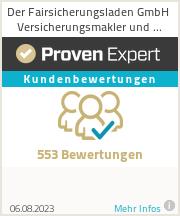 Erfahrungen & Bewertungen zu Der Fairsicherungsladen GmbH Finanzmakler & Versicherungsmakler Karlsruhe