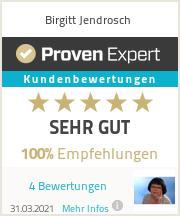 Erfahrungen & Bewertungen zu Birgitt Jendrosch