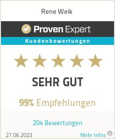 Erfahrungen & Bewertungen zu Rene Weik