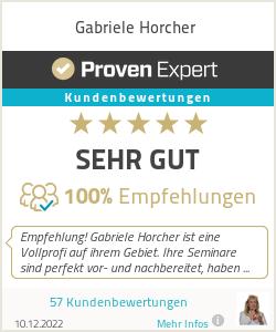 Erfahrungen & Bewertungen zu Gabriele Horcher
