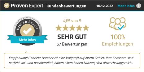 Kundenbewertungen & Erfahrungen zu Gabriele Horcher. Mehr Infos anzeigen.