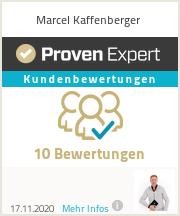 Erfahrungen & Bewertungen zu Marcel Kaffenberger