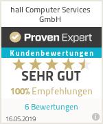 Erfahrungen & Bewertungen zu hall Computer Services GmbH