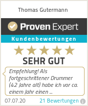 Erfahrungen & Bewertungen zu Thomas Gutermann