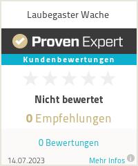 Erfahrungen & Bewertungen zu Laubegaster Wache