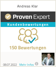 Erfahrungen & Bewertungen zu Andreas Klar