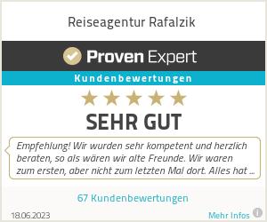 Erfahrungen & Bewertungen zu Reiseagentur Rafalzik
