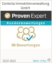 Erfahrungen & Bewertungen zu Contecta Immobilienverwaltung GmbH