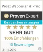 Erfahrungen & Bewertungen zu Voogt Webdesign & Print