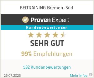Erfahrungen & Bewertungen zu BEITRAINING Bremen-Süd