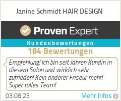 Erfahrungen & Bewertungen zu Janine Schmidt | Ihr Friseur in Leverkusen