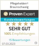 Erfahrungen & Bewertungen zu Pflegehelden® Braunschweig