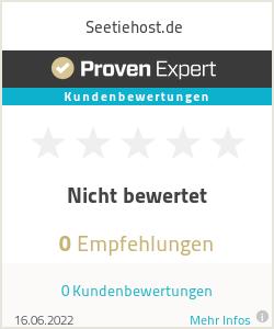 Erfahrungen & Bewertungen zu Seetiehost.de