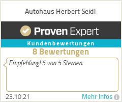 Erfahrungen & Bewertungen zu Autohaus Herbert Seidl