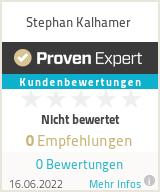 Erfahrungen & Bewertungen zu Stephan Kalhamer