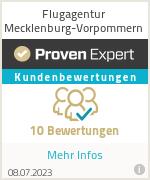 Erfahrungen & Bewertungen zu Flugagentur Mecklenburg-Vorpommern