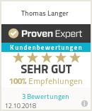 Erfahrungen & Bewertungen zu Thomas Langer