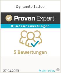 Erfahrungen & Bewertungen zu Dynamite Tattoo