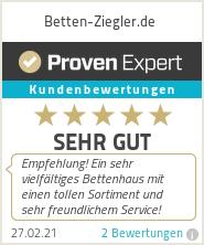 Erfahrungen & Bewertungen zu Betten-Ziegler.de