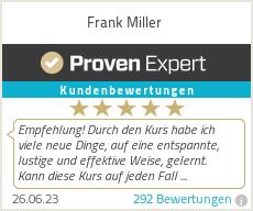 Erfahrungen & Bewertungen zu Frank Miller