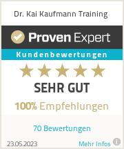 Erfahrungen & Bewertungen zu Dr. Kai Kaufmann Training